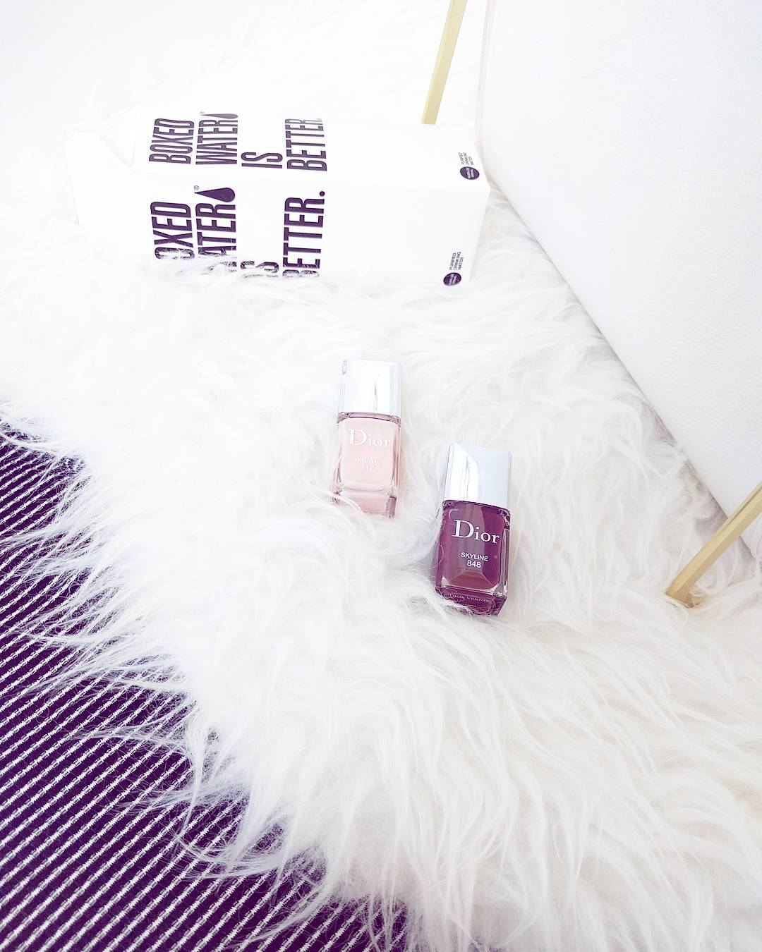 Dior Skyline nail polishes