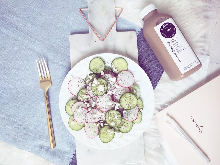 cucumber-radish-salad
