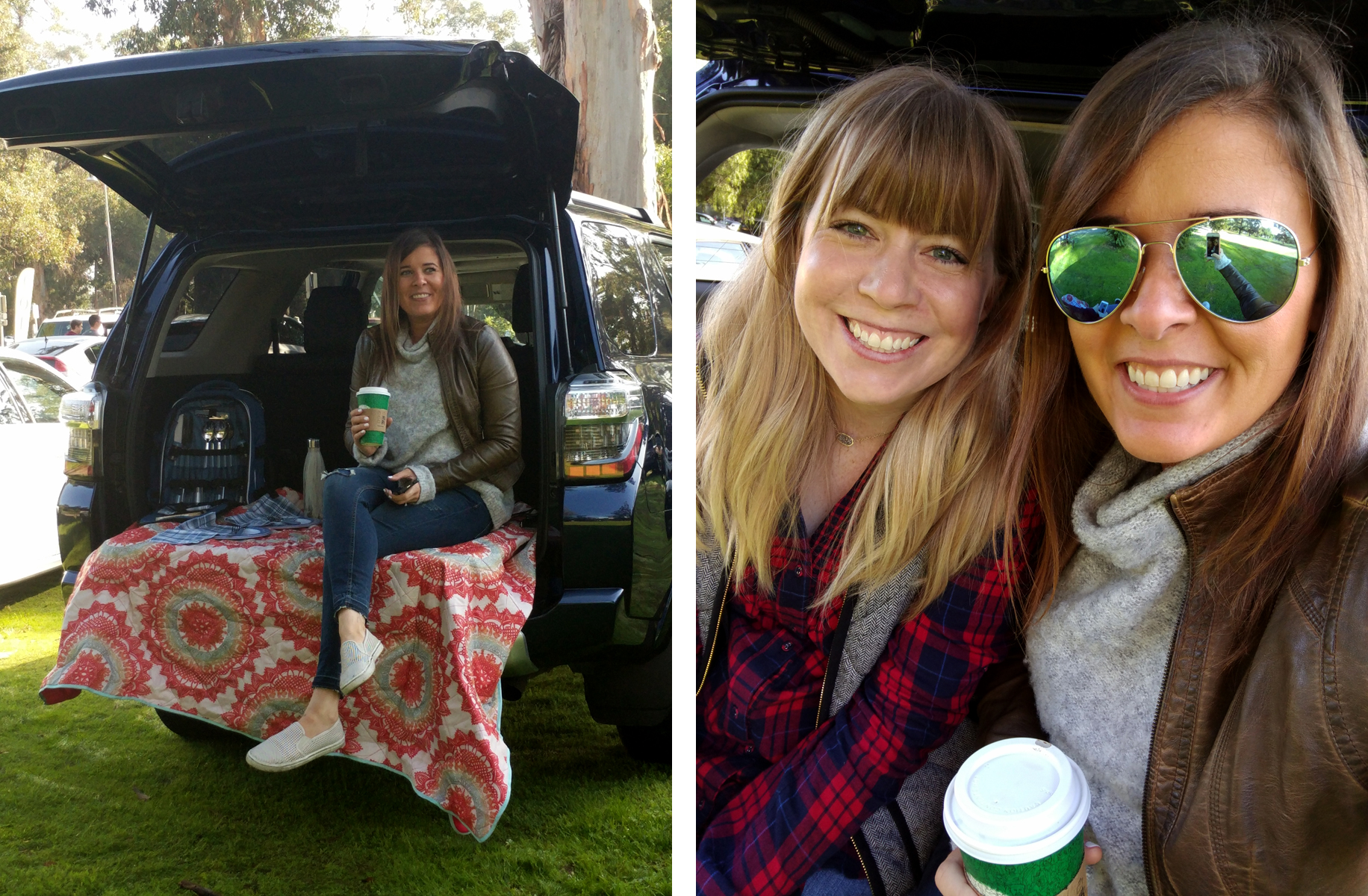 Lauren-Nancy-Tailgating