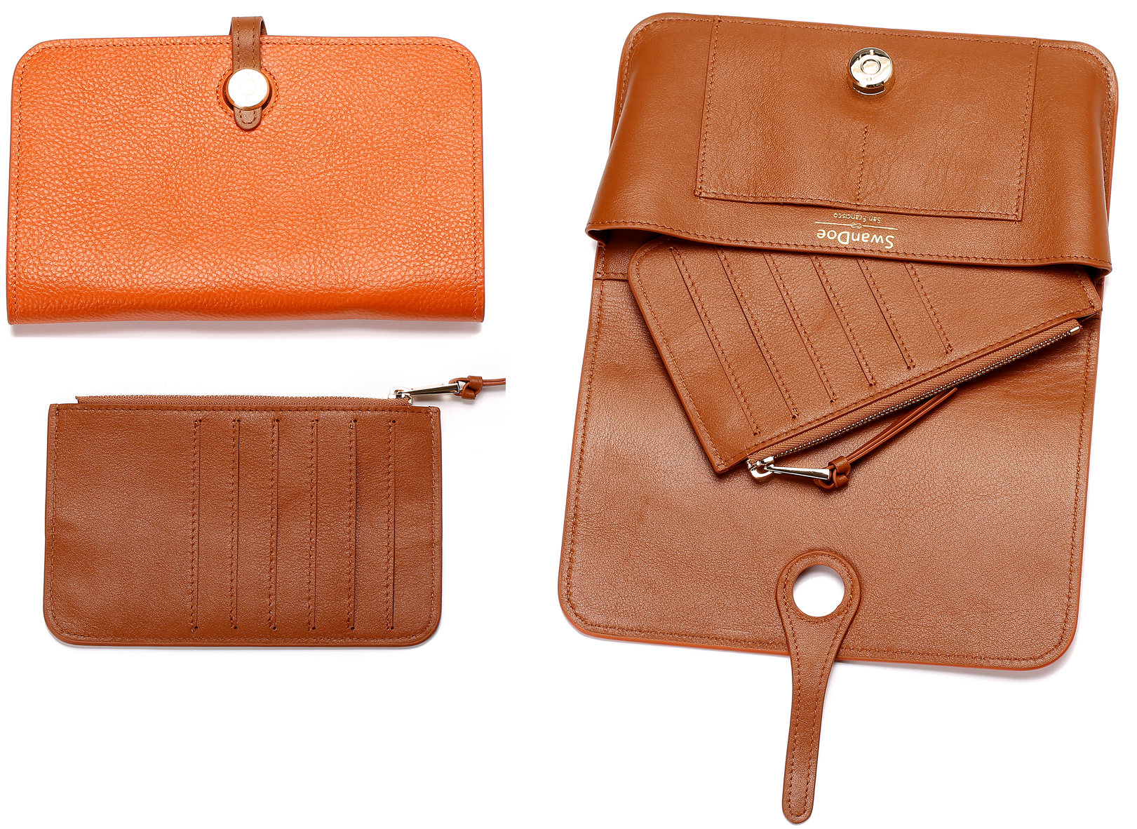 Convertible Wallet - Pumpkin Pie